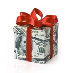 Money gift. Title Loans
