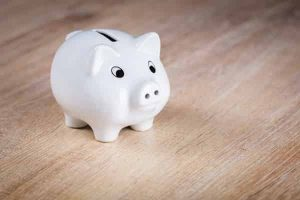 Piggy bank. Title Loans Express can help you get the loan you need