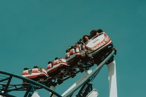 roller coaster. Title Loans Buena Park