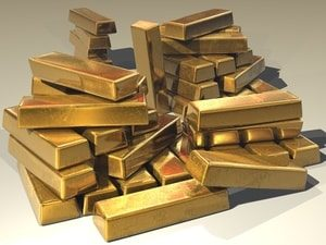 Gold Bars. Title Loans